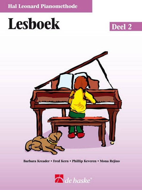 Lesboek De Hal Leonard Piano Methode 2