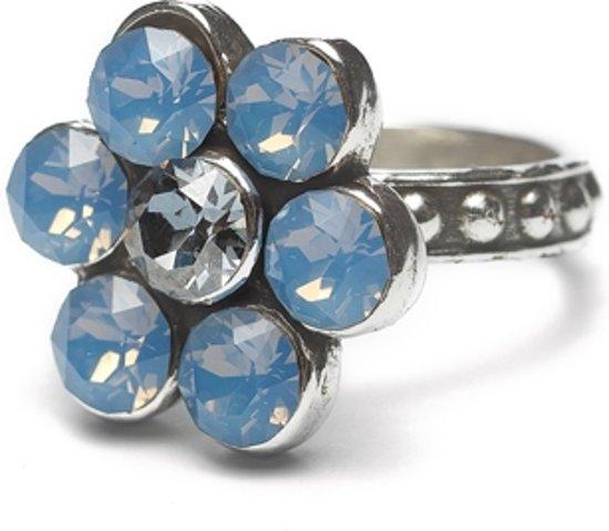 Dolce Luna Ring Flower blauw