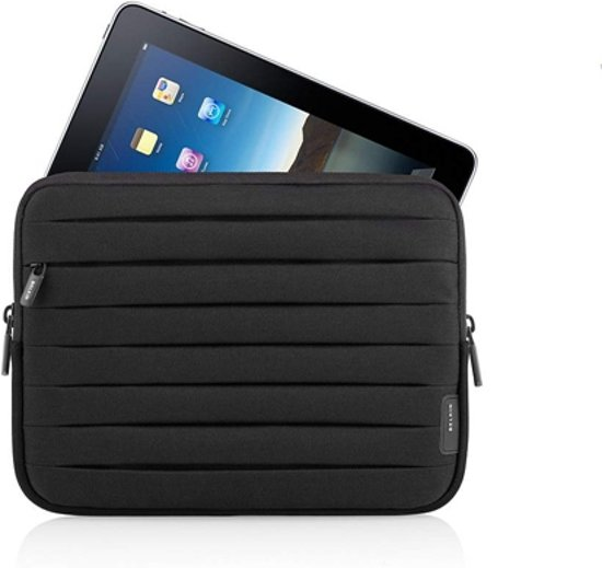 Belkin Pleated Sleeve voor de iPad/iPad 2- Perfect Zwart