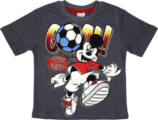 ef38c5ea718851 bol.com | Disney Mickey Mouse Jongens Voetbal T-shirt 116