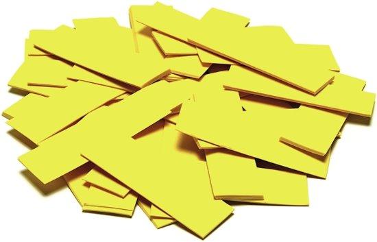 TCM FX Slowfall Confetti rectangular 55x18mm, yellow, 1kg