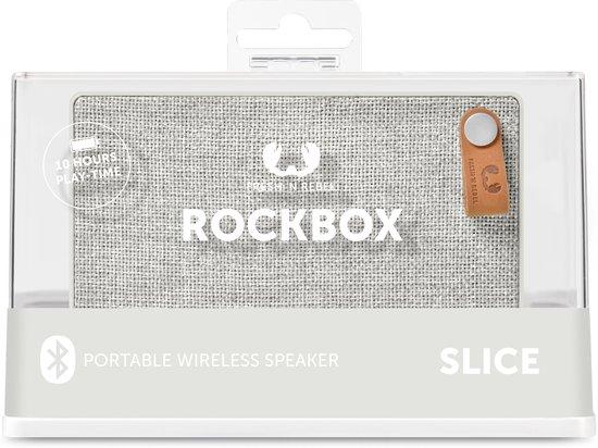 Fresh n Rebel Rockbox Slice Fabriq Edition Lichtgrijs