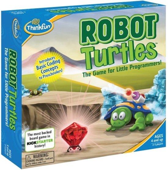 Thinkfun Leer Programmeren Spel Robot Turtles Engelstalig