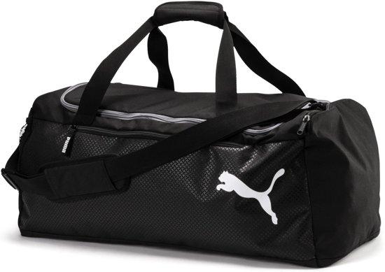 da343f6d8a8c PUMA Fundamentals Sports Bag M Sporttas Unisex - Puma Black