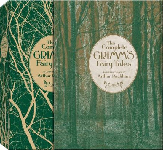 Boek cover The Complete Grimms Fairy Tales (Knickerbocker Classics) van The Brothers Grimm (Hardcover)