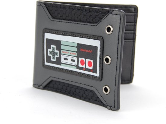 Nintendo - Controller Rubber Badge Bifold Portemonnee