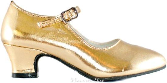 9a0ee076bcb689 bol.com | Prinsessen Schoenen Goud - Kerst schoenen - maat 32 ...