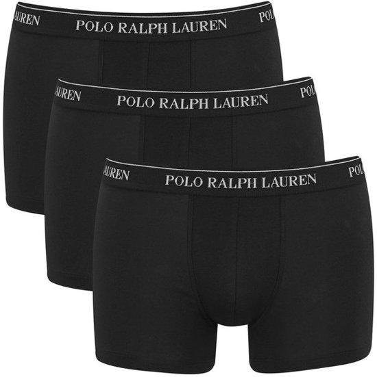 3pack boxershorts polo ralph lauren zwart maat xxl