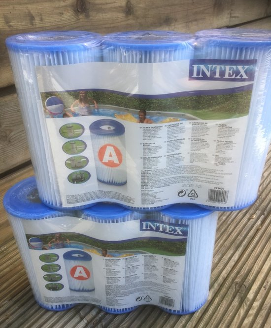 12 X super pack Intex Zwembad Filtercartridge Type A