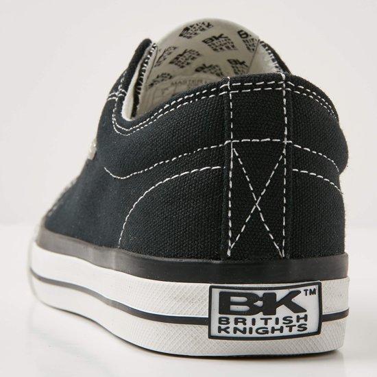 Knights Lo Sneakers Master Laag 45 Maat Heren British Zwart 4qf1xw6