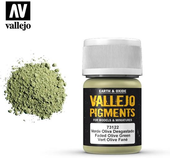 VALLEJO Pigment Faded Olive Green