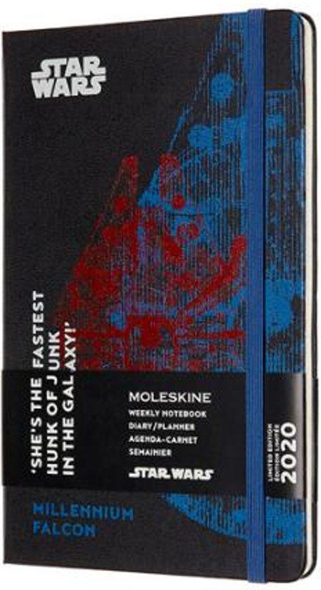 Afbeelding van Moleskine 12 Maanden Agenda Limited Edition Planner 2020 - Star Wars - Wekelijks - Large (13x21 cm) - Falcon