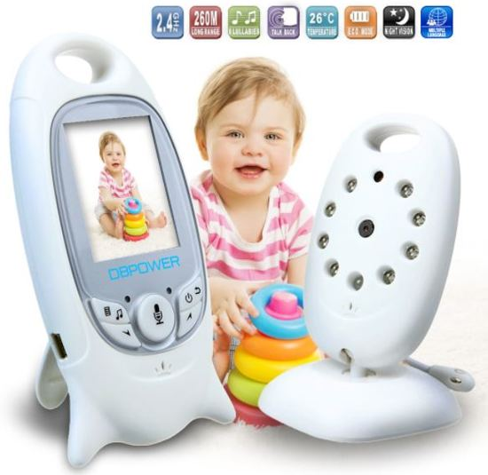 Babyfoon incl. camera en terugspreekfunctie