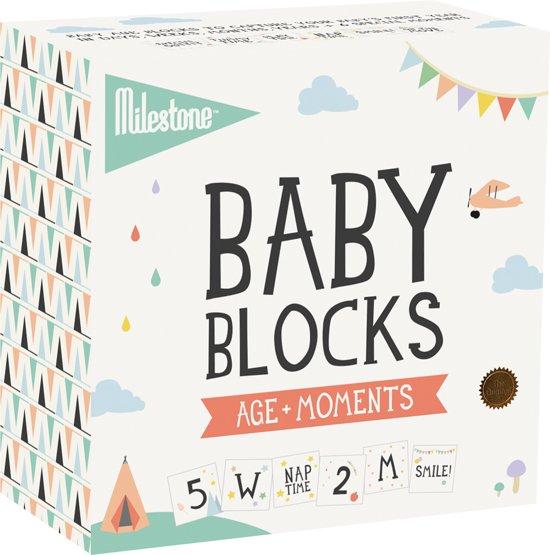 Milestone™ Age+ Moment Photo Blocks