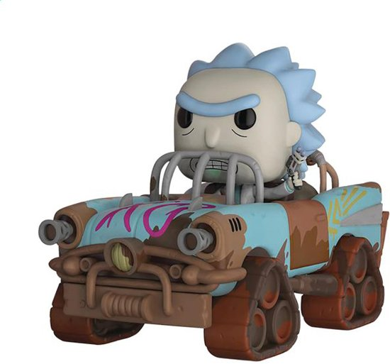 Funko Pop! Mad Max Rick #04 Rick & Morty ! - Verzamelfiguur