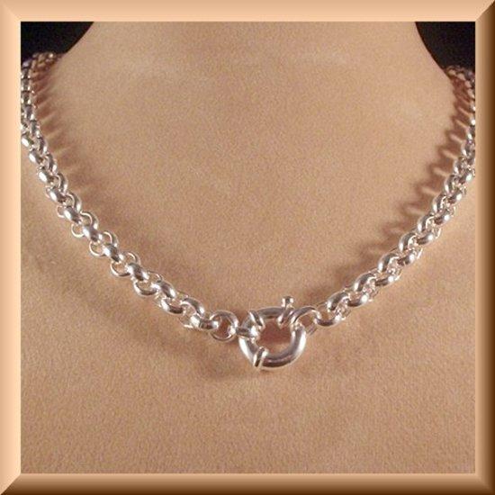 Prachtige Jasseron armband van 925 zilver