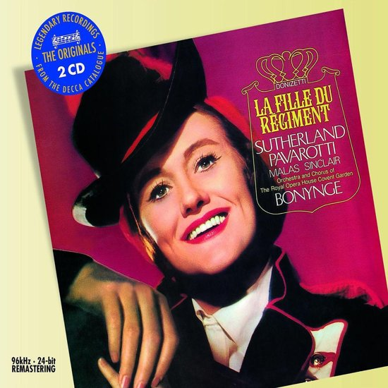 Sutherland,Dame Joan / Pavarotti,Lu - La Fille Du Regiment