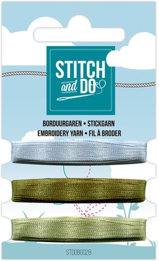 Stitch and Do 28 - Mini Garenkaart