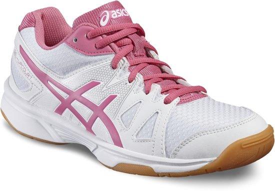 Asics Gel-Upcourt (GS) Sportschoenen - Maat 38 - Meisjes - wit/roze