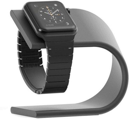 Apple watch stand aluminum - donker grijs