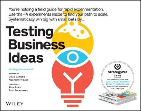 Boek cover Testing Business Ideas van David Bland (Paperback)