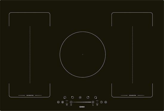 CENDO KR98FI2TS - Flex Inductie Kookplaat 80 cm 5 zones