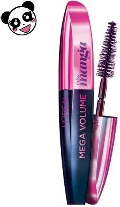a12641b3449 bol.com   Loreal Voluminous Miss Manga Mascara - 383 Purple Pop