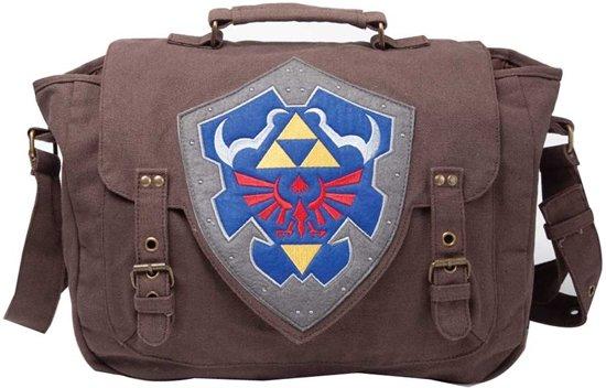 The Legend Of Zelda Brown Link Shield Messenger Bag