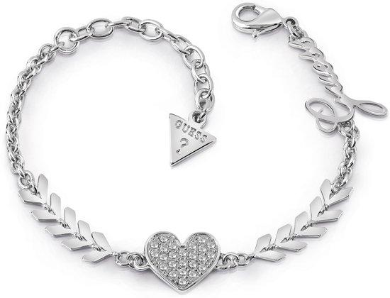 GUESS Jewellery Armband CUPID Dames Zilverkleurig cm