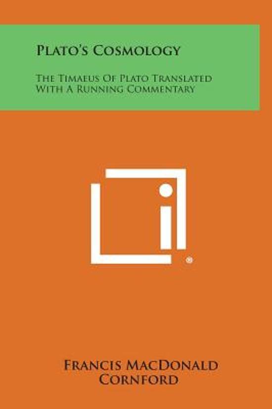 Plato's Cosmology