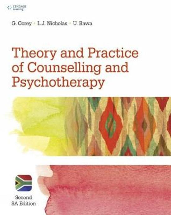 Theory and Practice of Counselling