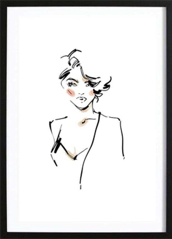 Hi Babe Poster (50x70cm) - Fashion - Poster - Print - Wallified