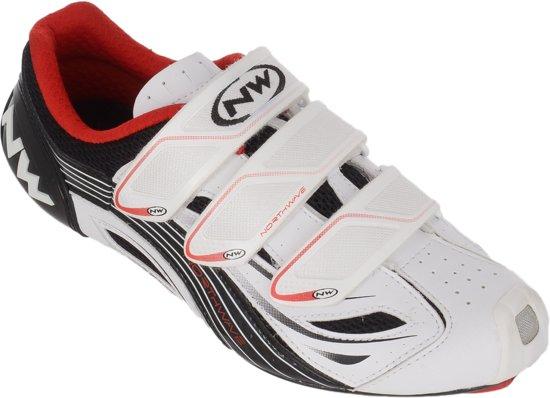 Northwave Chaussures Blanches Avec Velcro Pour Les Hommes kP0TpZDFHK