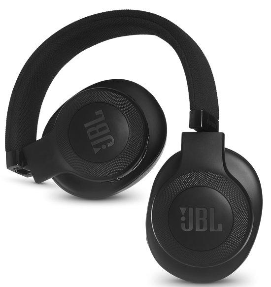 JBL E55BT - Draadloze over-ear koptelefoon - Zwart - JBL