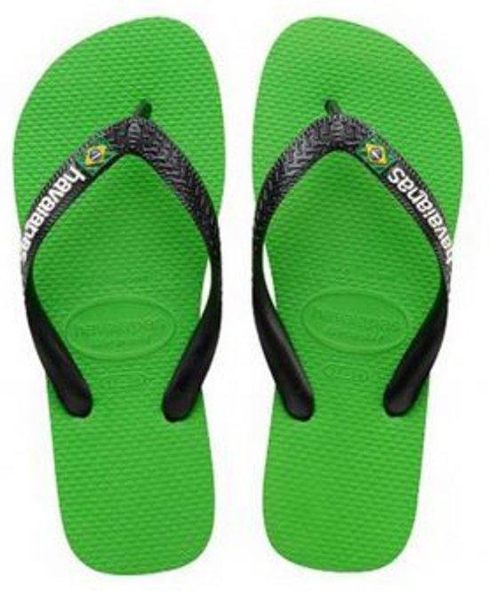 Havaianas Libèrent Logo Brasil - Groen soK4bnDk