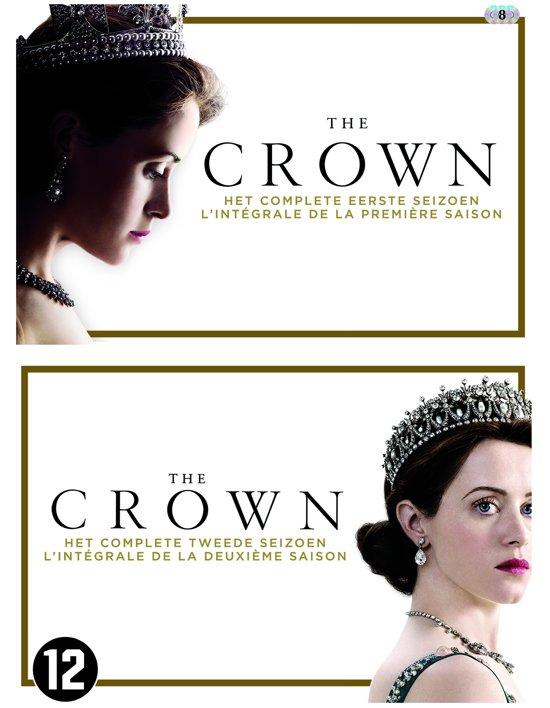 DVD cover van The Crown - Seizoen 1 & 2