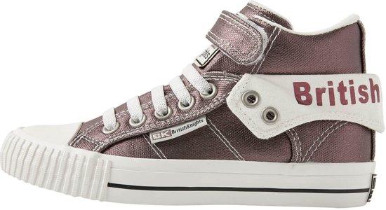 3f10f52e886 British Knights ROCO Meisjes sneakers hoog - Donker grijs - maat 35