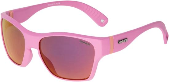 Sinner Gunstock Kinder Zonnebril - Roze - One Size