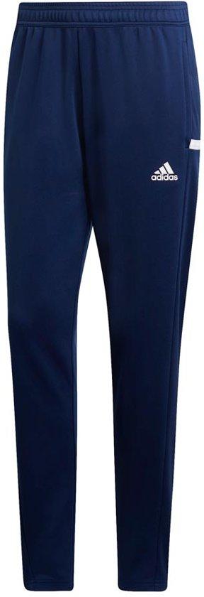adidas T19 Dames Track Pant - Broeken - blauw donker - S