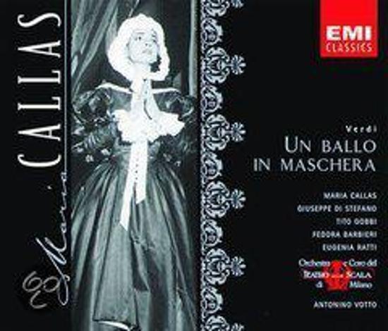 Callas Edition - Verdi: Un Ballo in Maschera / Votto, et al
