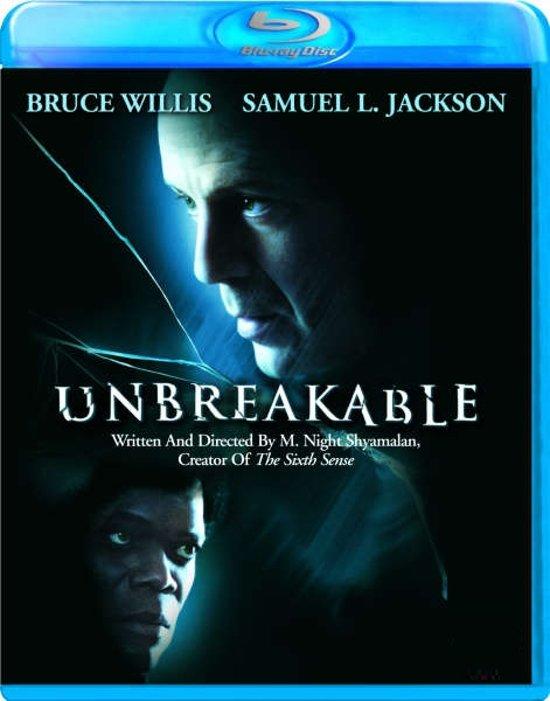 DVD cover van Unbreakable (Blu-ray)