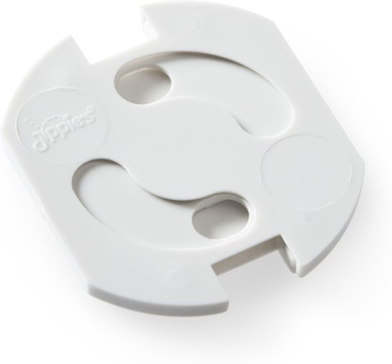 Draaistopcontact 20st wit