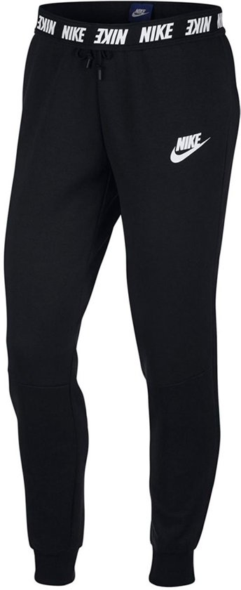 0651efe7fab Nike NSW Advance Pant Sportbroek Dames - Zwart/Wit