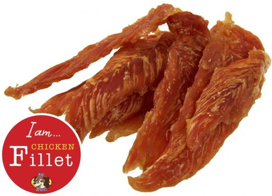 I Am Petsnack Gedroogd Kip Filet (Kipwings) - 500 GR (20 stuks)