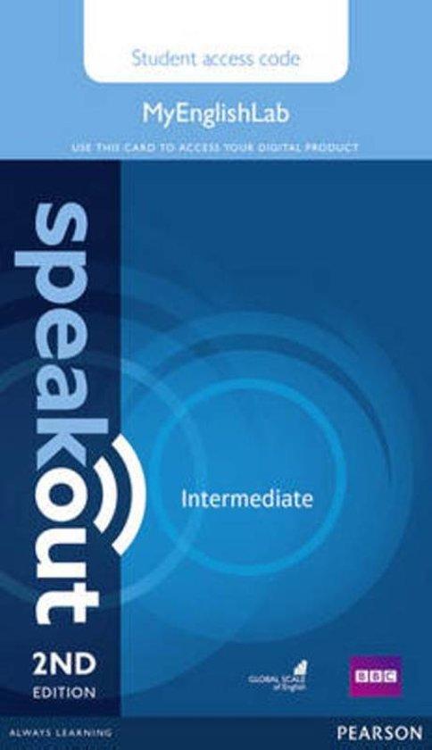 Speakout Intermediate MyEnglishLab Student Access Card