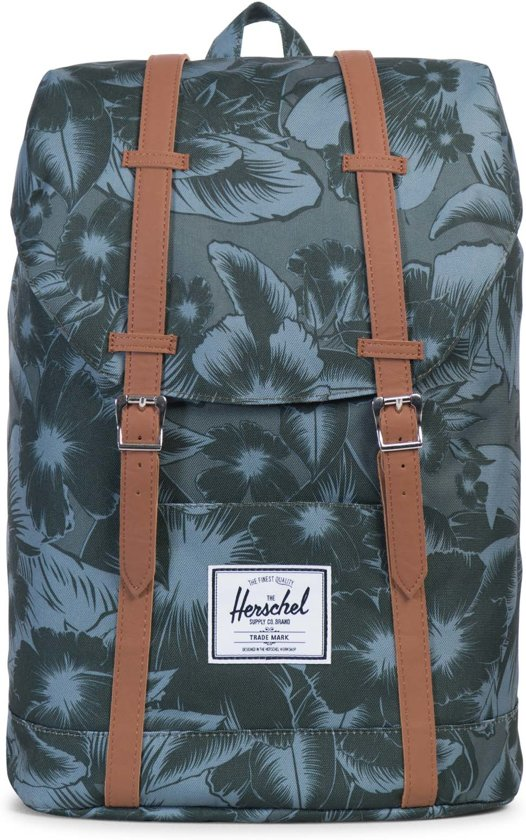 bba9747c93e Herschel Supply Co. Retreat - Rugzak - Jungle Floral Green