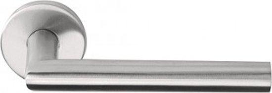 Formani BASICS LBII-19 deurkruk op ronde rozet PVD IC PR