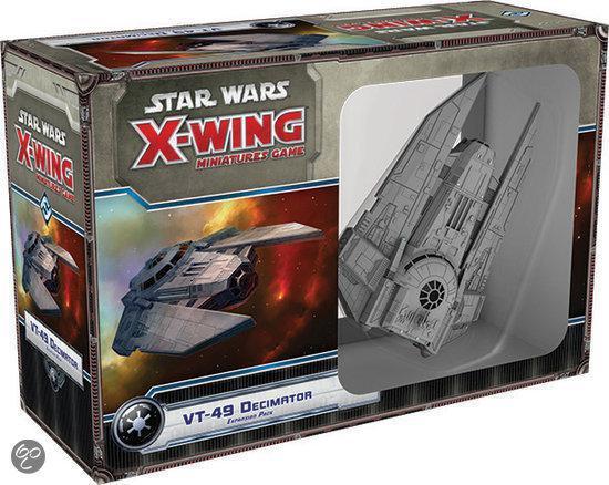Afbeelding van het spel Star Wars X-wing VT-49 Decimator Expansion Pack - Uitbreiding - Bordspel