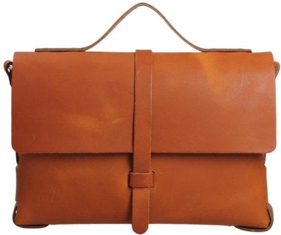 a17123bd4a5 bol.com   Elvy Bags Alanis Plain Crossbodytas - Cognac
