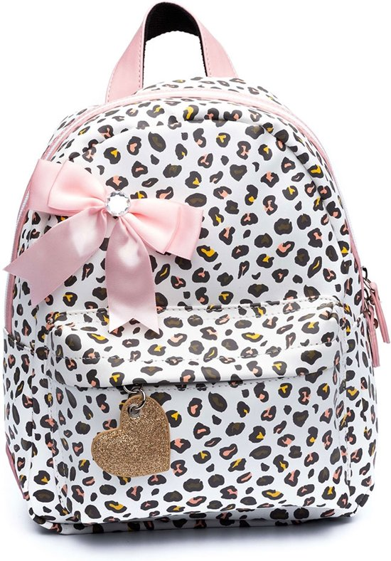 bee42d0b753 bol.com | Zebra Trends Kinder Rugzak S Leo White/ Pink